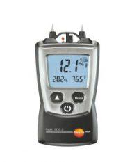 testo 606-2 — Карманный влагомер древесины и стройматериалов, вкл. измерение влажности и температуры окружающего воздуха (0560 6062)