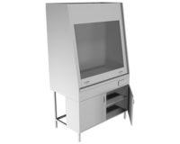 Вытяжной шкаф НВ-1200 ШВ-У (1100*700*1960)