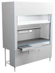 Шкаф вытяжной без сантехники ШВ НВК 1800 КГ (1800x716x2200)