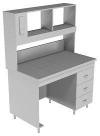 Стол пристенный физический НВ-1200 ПЛ (1218*700*1650)
