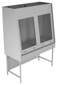 Вытяжной шкаф двухрамный НВ-1500 ШВд-М (1410*700*1960)