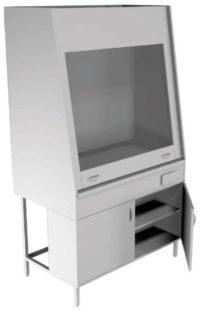 Вытяжной шкаф НВ-1200 ШВ-Б (1100*700*1960)