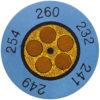 Круглые термоиндикаторы testoterm - измерительный диапазон +60 … +82 °C (0646 0072)